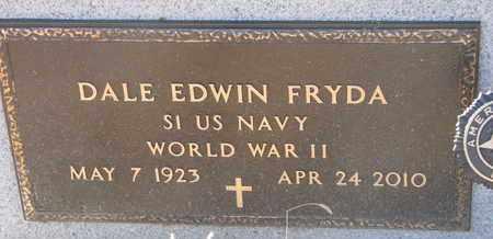 FRYDA, DALE EDWIN (WW II) - Bon Homme County, South Dakota   DALE EDWIN (WW II) FRYDA - South Dakota Gravestone Photos