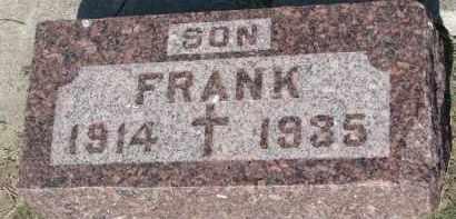 FRYDA, FRANK - Bon Homme County, South Dakota   FRANK FRYDA - South Dakota Gravestone Photos