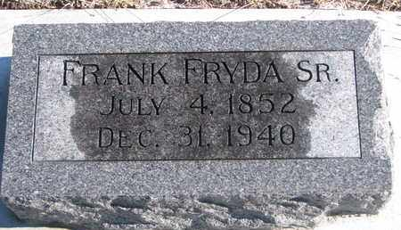 FRYDA, FRANK SR. - Bon Homme County, South Dakota | FRANK SR. FRYDA - South Dakota Gravestone Photos