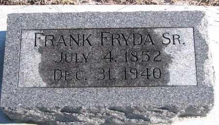 FRYDA, FRANK SR. - Bon Homme County, South Dakota | FRANK SR. FRYDA - South Dakota Gravestone Photos