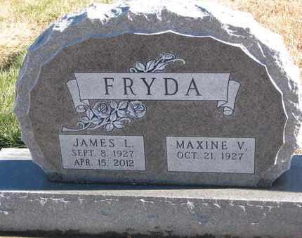 FRYDA, MAXINE V. - Bon Homme County, South Dakota | MAXINE V. FRYDA - South Dakota Gravestone Photos
