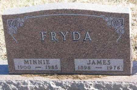 FRYDA, MINNIE - Bon Homme County, South Dakota | MINNIE FRYDA - South Dakota Gravestone Photos