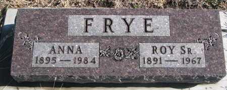 FRYE, ROY SR. - Bon Homme County, South Dakota | ROY SR. FRYE - South Dakota Gravestone Photos