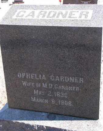 GARDNER, OPHELIA - Bon Homme County, South Dakota | OPHELIA GARDNER - South Dakota Gravestone Photos