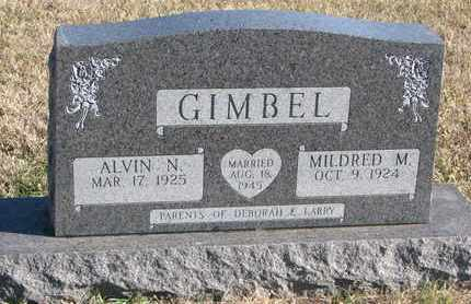 GIMBEL, ALVIN N. - Bon Homme County, South Dakota   ALVIN N. GIMBEL - South Dakota Gravestone Photos