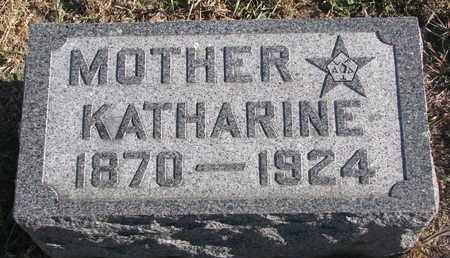 GRETSCHMANN, KATHERINE - Bon Homme County, South Dakota   KATHERINE GRETSCHMANN - South Dakota Gravestone Photos