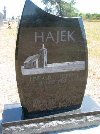 HAJEK, JERRY L. - Bon Homme County, South Dakota | JERRY L. HAJEK - South Dakota Gravestone Photos