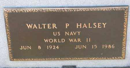 HALSEY, WALTER P. (WW II) - Bon Homme County, South Dakota | WALTER P. (WW II) HALSEY - South Dakota Gravestone Photos