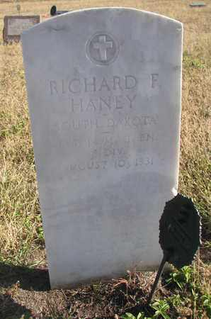 HANEY, RICHARD F. - Bon Homme County, South Dakota | RICHARD F. HANEY - South Dakota Gravestone Photos