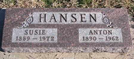 HANSEN, ANTON - Bon Homme County, South Dakota | ANTON HANSEN - South Dakota Gravestone Photos