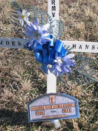 HANSON, JOEL - Bon Homme County, South Dakota | JOEL HANSON - South Dakota Gravestone Photos