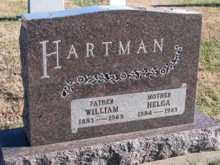 HARTMAN, HELGA - Bon Homme County, South Dakota | HELGA HARTMAN - South Dakota Gravestone Photos