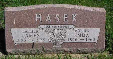 HASEK, JAMES - Bon Homme County, South Dakota   JAMES HASEK - South Dakota Gravestone Photos