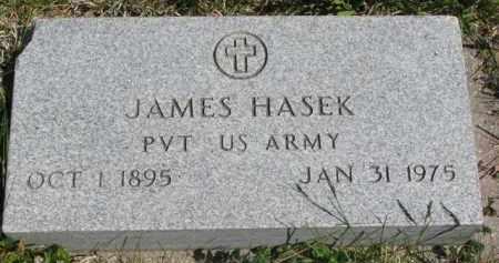 HASEK, JAMES - Bon Homme County, South Dakota | JAMES HASEK - South Dakota Gravestone Photos