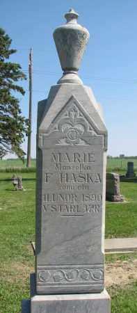 HASKA, MARIE - Bon Homme County, South Dakota | MARIE HASKA - South Dakota Gravestone Photos