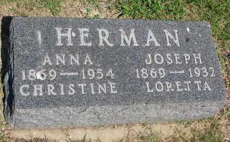 HERMAN, ANNA - Bon Homme County, South Dakota | ANNA HERMAN - South Dakota Gravestone Photos
