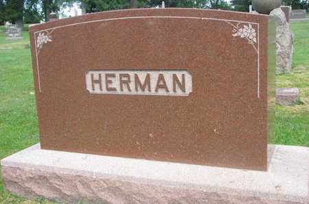 HERMAN, FAMILY MONUMENT - Bon Homme County, South Dakota | FAMILY MONUMENT HERMAN - South Dakota Gravestone Photos