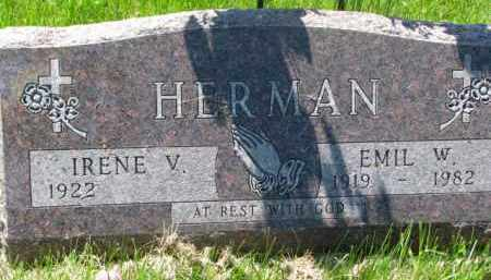 HERMAN, EMIL W. - Bon Homme County, South Dakota | EMIL W. HERMAN - South Dakota Gravestone Photos