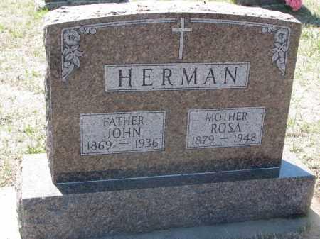 HERMAN, JOHN - Bon Homme County, South Dakota | JOHN HERMAN - South Dakota Gravestone Photos