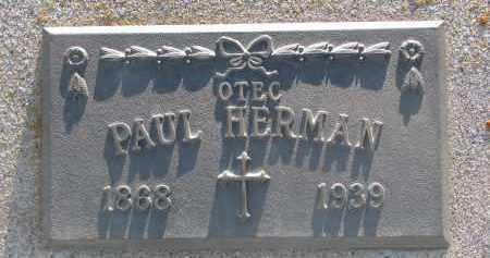 HERMAN, PAUL - Bon Homme County, South Dakota | PAUL HERMAN - South Dakota Gravestone Photos