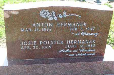 PLOSTER HERMANEK, JOSIE - Bon Homme County, South Dakota | JOSIE PLOSTER HERMANEK - South Dakota Gravestone Photos