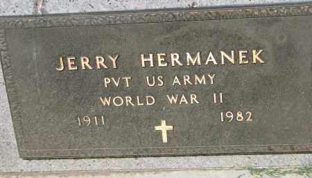 HERMANEK, JERRY (WW II) - Bon Homme County, South Dakota | JERRY (WW II) HERMANEK - South Dakota Gravestone Photos