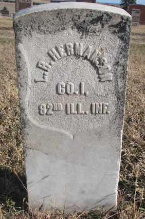 HERMANSON, L.B. - Bon Homme County, South Dakota | L.B. HERMANSON - South Dakota Gravestone Photos