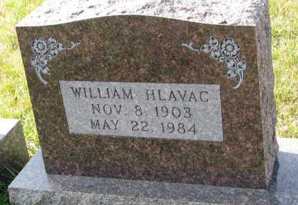 HLAVAC, WILLIAM - Bon Homme County, South Dakota | WILLIAM HLAVAC - South Dakota Gravestone Photos