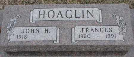 HOAGLIN, FRANCES - Bon Homme County, South Dakota | FRANCES HOAGLIN - South Dakota Gravestone Photos