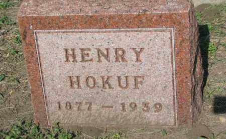HOKUF, HENRY - Bon Homme County, South Dakota | HENRY HOKUF - South Dakota Gravestone Photos