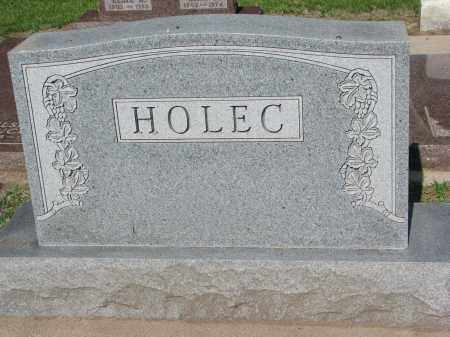 HOLEC, FAMILY STONE - Bon Homme County, South Dakota | FAMILY STONE HOLEC - South Dakota Gravestone Photos