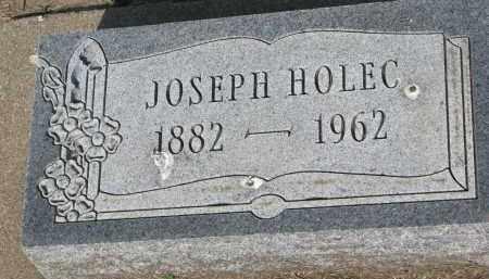 HOLEC, JOSEPH - Bon Homme County, South Dakota | JOSEPH HOLEC - South Dakota Gravestone Photos