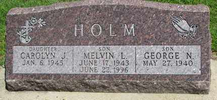 HOLM, GEORGE N. - Bon Homme County, South Dakota | GEORGE N. HOLM - South Dakota Gravestone Photos