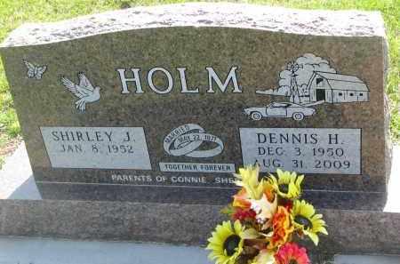 HOLM, DENNIS H. - Bon Homme County, South Dakota | DENNIS H. HOLM - South Dakota Gravestone Photos