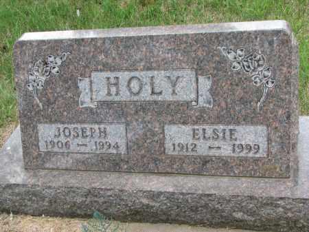 HOLY, ELSIE - Bon Homme County, South Dakota | ELSIE HOLY - South Dakota Gravestone Photos