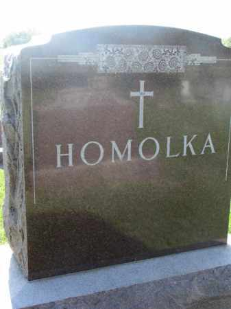 HOMOLKA, FAMILY STONE - Bon Homme County, South Dakota | FAMILY STONE HOMOLKA - South Dakota Gravestone Photos