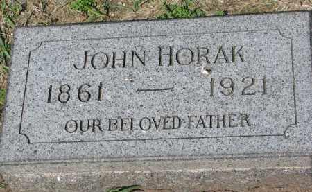 HORAK, JOHN - Bon Homme County, South Dakota | JOHN HORAK - South Dakota Gravestone Photos