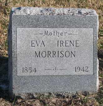 MORRISON, EVA IRENE - Bon Homme County, South Dakota   EVA IRENE MORRISON - South Dakota Gravestone Photos