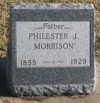 MORRISON, PHILESTER J. - Bon Homme County, South Dakota | PHILESTER J. MORRISON - South Dakota Gravestone Photos