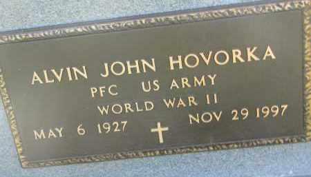 HOVORKA, ALVIN JOHN (WW II) - Bon Homme County, South Dakota | ALVIN JOHN (WW II) HOVORKA - South Dakota Gravestone Photos