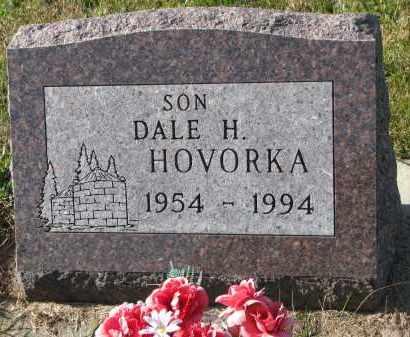 HOVORKA, DALE H. - Bon Homme County, South Dakota   DALE H. HOVORKA - South Dakota Gravestone Photos