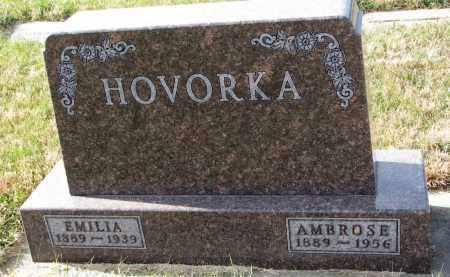 HOVORKA, AMBROSE - Bon Homme County, South Dakota   AMBROSE HOVORKA - South Dakota Gravestone Photos
