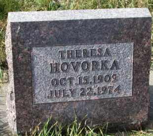 HOVORKA, THERESA - Bon Homme County, South Dakota   THERESA HOVORKA - South Dakota Gravestone Photos