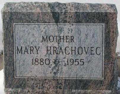HRACHOVEC, MARY - Bon Homme County, South Dakota | MARY HRACHOVEC - South Dakota Gravestone Photos