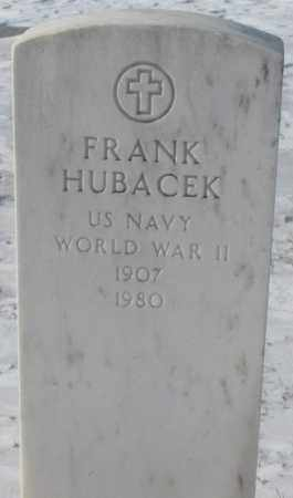 HUBACEK, FRANK - Bon Homme County, South Dakota | FRANK HUBACEK - South Dakota Gravestone Photos