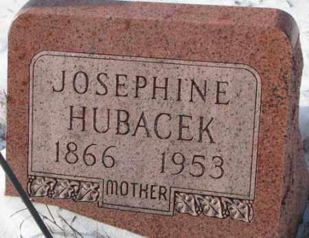 HUBACEK, JOSEPHINE - Bon Homme County, South Dakota   JOSEPHINE HUBACEK - South Dakota Gravestone Photos
