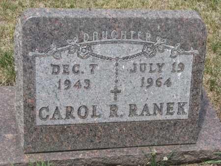 RANEK, CAROL R. - Bon Homme County, South Dakota   CAROL R. RANEK - South Dakota Gravestone Photos