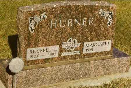 HUBNER, RUSSELL & MARGARET (VOIGT) - Bon Homme County, South Dakota   RUSSELL & MARGARET (VOIGT) HUBNER - South Dakota Gravestone Photos