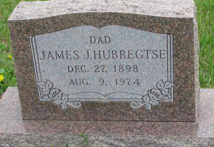 HUBREGTSE, JAMES J. - Bon Homme County, South Dakota   JAMES J. HUBREGTSE - South Dakota Gravestone Photos