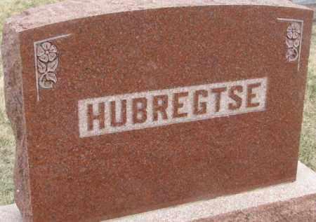 HUBREGTSE, PLOT - Bon Homme County, South Dakota   PLOT HUBREGTSE - South Dakota Gravestone Photos